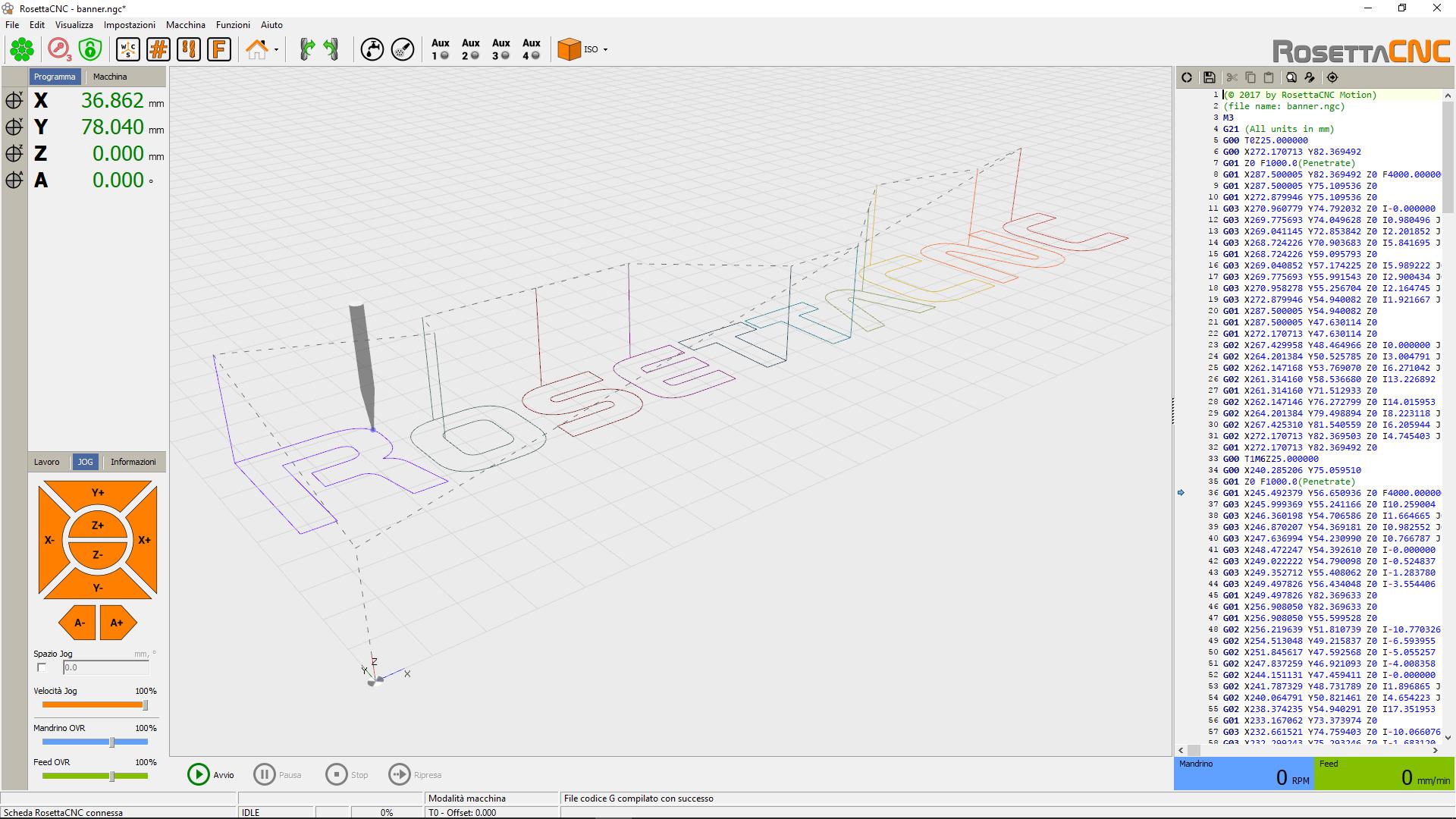 RosettaCNC Motion - Download